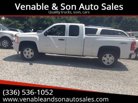 2011 Chevrolet Silverado 1500 for sale at Venable & Son Auto Sales in Walnut Cove NC