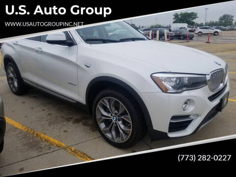 2016 BMW X4 for sale at U.S. Auto Group in Chicago IL