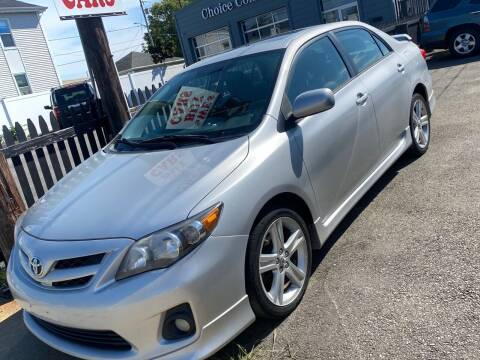 2013 Toyota Corolla for sale at Bob Luongo's Auto Sales in Fall River MA