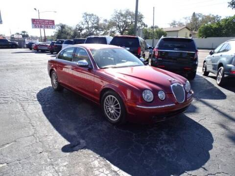 2007 Jaguar S-Type for sale at DONNY MILLS AUTO SALES in Largo FL