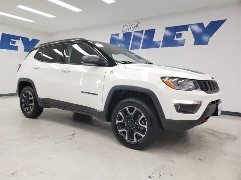 2019 Jeep Compass for sale at HILEY MAZDA VOLKSWAGEN of ARLINGTON in Arlington TX