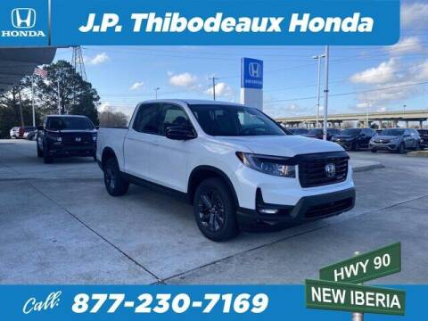 2021 Honda Ridgeline for sale at J P Thibodeaux Used Cars in New Iberia LA
