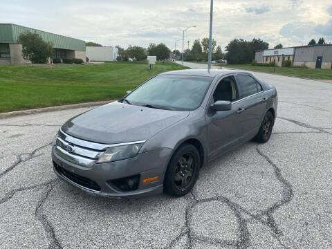 2011 Ford Fusion for sale at JE Autoworks LLC in Willoughby OH