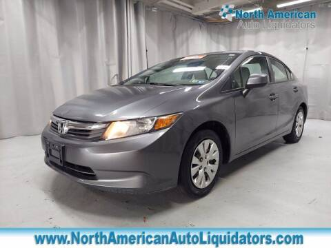 2012 Honda Civic for sale at North American Auto Liquidators in Essington PA