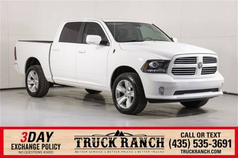 2016 RAM Ram Pickup 1500 for sale at Truck Ranch in Logan UT