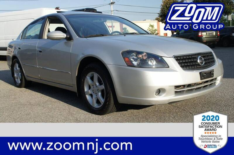 2005 Nissan Altima for sale at Zoom Auto Group in Parsippany NJ