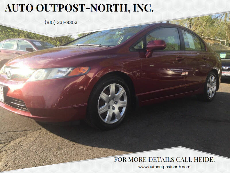 2006 Honda Civic for sale at Auto Outpost-North, Inc. in McHenry IL