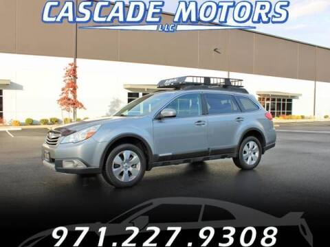 2011 Subaru Outback for sale at Cascade Motors in Portland OR