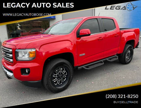 2016 GMC Canyon for sale at LEGACY AUTO SALES in Boise ID