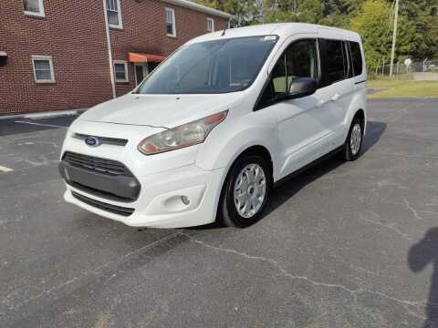 2014 Ford Transit Connect Wagon for sale at El Camino Auto Sales Gainesville in Gainesville GA