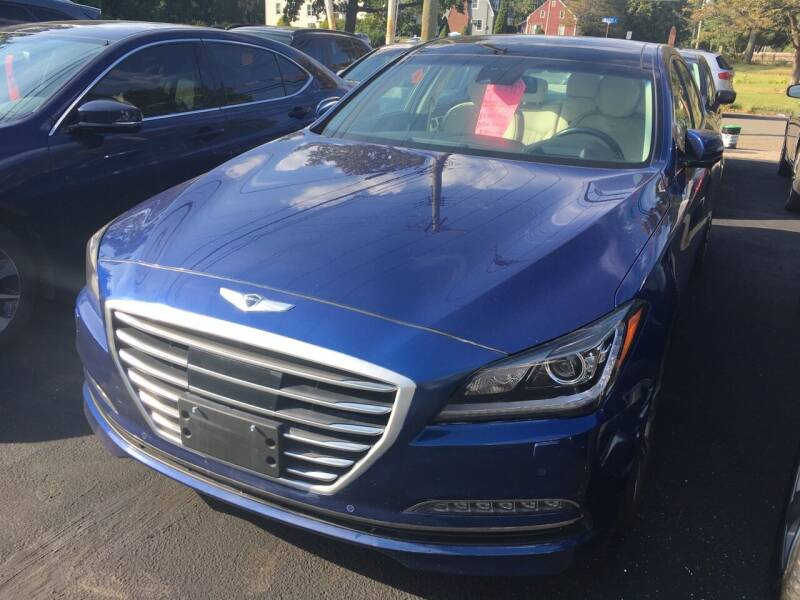 2016 Hyundai Genesis for sale at MELILLO MOTORS INC in North Haven CT