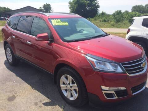 2014 Chevrolet Traverse for sale at Hillside Motors in Campbell NY