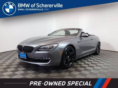 2012 BMW 6 Series for sale at BMW of Schererville in Shererville IN