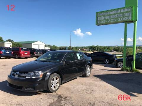 2012 Dodge Avenger for sale at Independent Auto in Belle Fourche SD