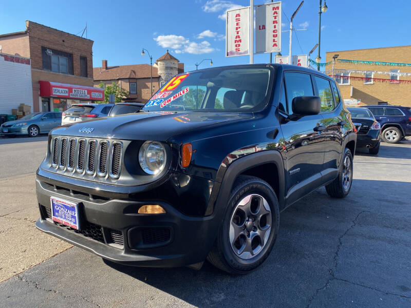 2015 Jeep Renegade for sale at Latino Motors in Aurora IL