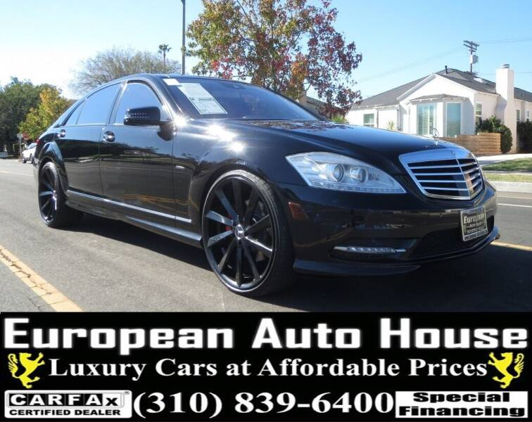 2012 Mercedes-Benz S-Class for sale at European Auto House in Los Angeles CA