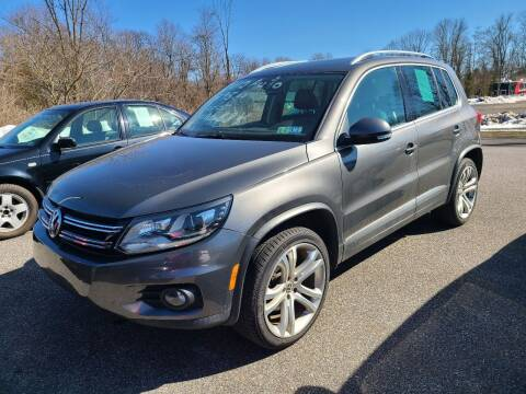 2012 Volkswagen Tiguan for sale at ULRICH SALES & SVC in Mohnton PA