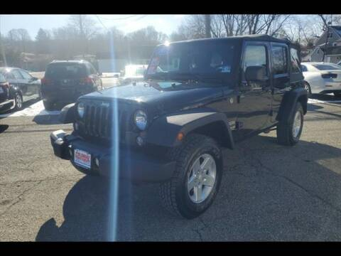 2015 Jeep Wrangler Unlimited for sale at Colonial Motors in Mine Hill NJ