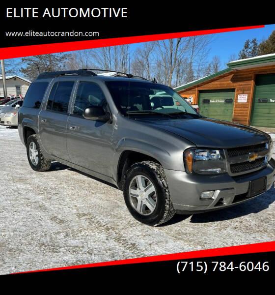 2006 Chevrolet TrailBlazer EXT for sale at ELITE AUTOMOTIVE in Crandon WI