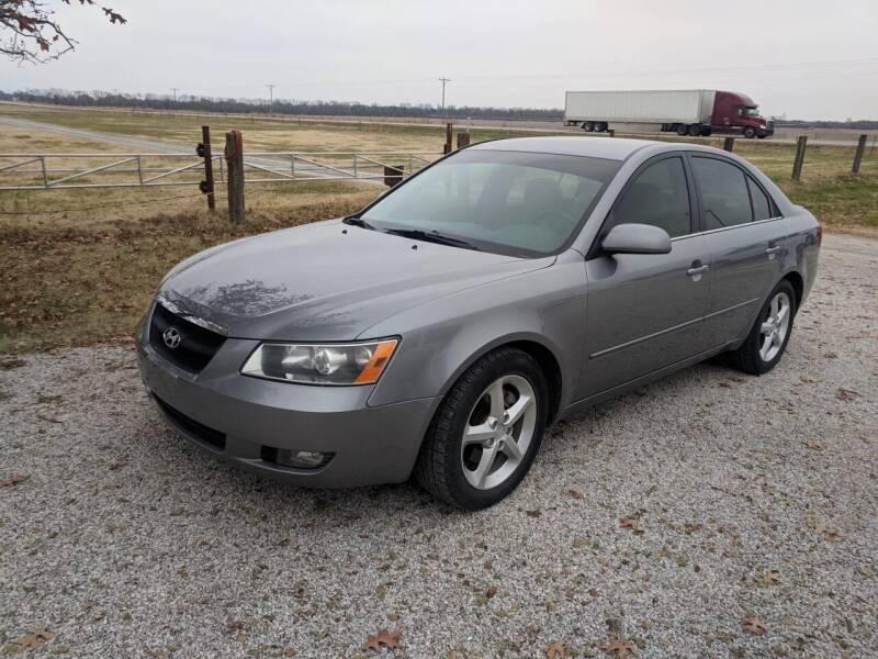 2008 Hyundai Sonata for sale at Halstead Motors LLC in Halstead KS