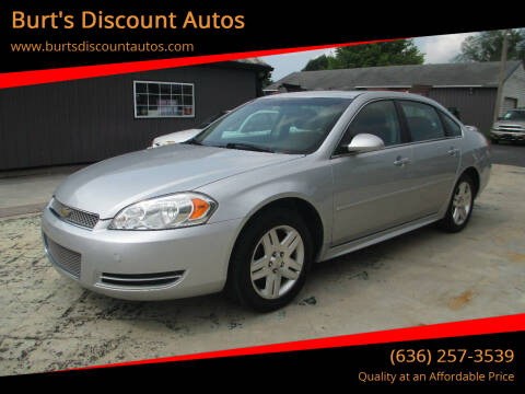 2015 Chevrolet Impala Limited for sale at Burt's Discount Autos in Pacific MO