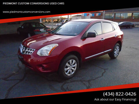2012 Nissan Rogue for sale at PIEDMONT CUSTOM CONVERSIONS USED CARS in Danville VA