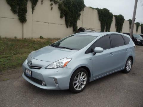 2014 Toyota Prius v for sale at Metro Motor Sales in Minneapolis MN