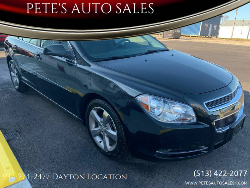 2011 Chevrolet Malibu for sale at PETE'S AUTO SALES - Dayton in Dayton OH