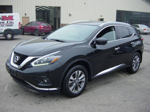 2018 Nissan Murano for sale at North South Motorcars in Seabrook NH