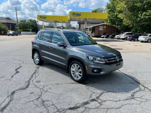 2013 Volkswagen Tiguan for sale at Trust Petroleum in Rockland MA