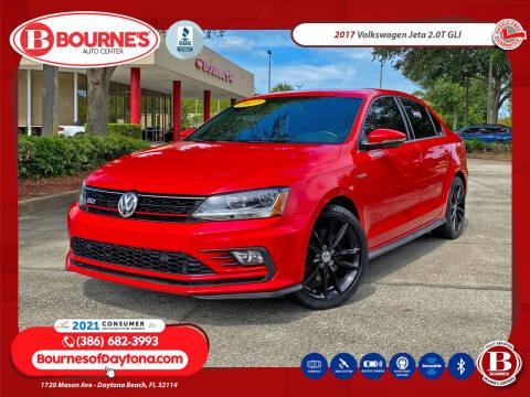 2017 Volkswagen Jetta for sale at Bourne's Auto Center in Daytona Beach FL