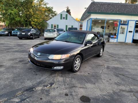 2002 Toyota Camry Solara for sale at MOE MOTORS LLC in South Milwaukee WI