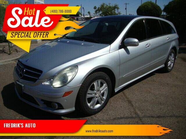 2009 Mercedes-Benz R-Class for sale at FREDRIK'S AUTO in Mesa AZ