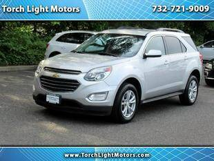 2016 Chevrolet Equinox for sale at Torch Light Motors in Parlin NJ