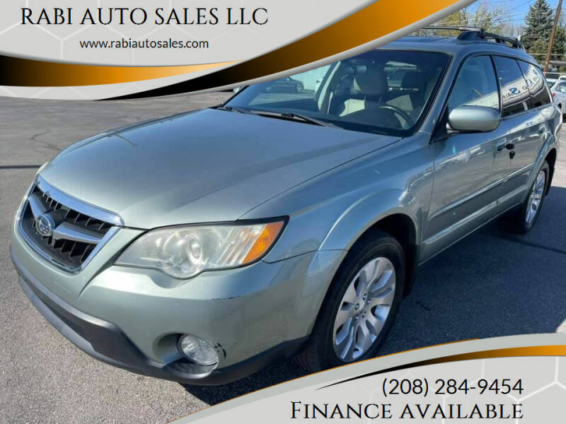2009 Subaru Outback for sale at RABI AUTO SALES LLC in Garden City ID