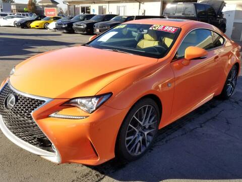 2015 Lexus RC 350 for sale at PLANET AUTO SALES in Lindon UT