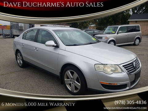 2008 Volkswagen Passat for sale at Dave Ducharme's Auto Sales in Lowell MA