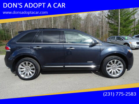 2013 Lincoln MKX for sale at DON'S ADOPT A CAR in Cadillac MI