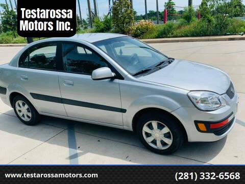 2006 Kia Rio for sale at Testarossa Motors Inc. in League City TX