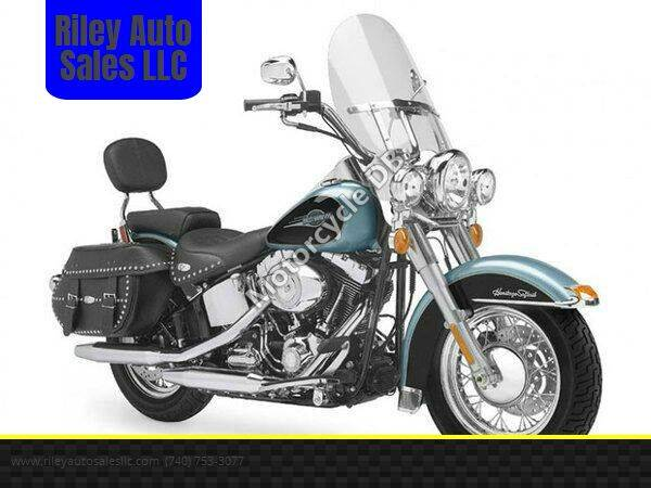2007 Harley-Davidson FLSTC HERITAGE SFTL CLSC for sale at Riley Auto Sales LLC in Nelsonville OH