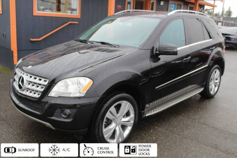 2011 Mercedes-Benz M-Class for sale at Sabeti Motors in Tacoma WA