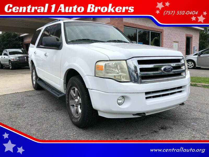 2009 Ford Expedition for sale at Central 1 Auto Brokers in Virginia Beach VA