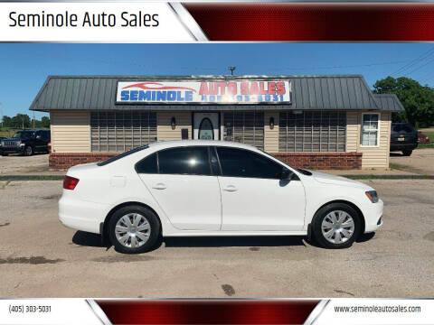 2012 Volkswagen Jetta for sale at Seminole Auto Sales in Seminole OK