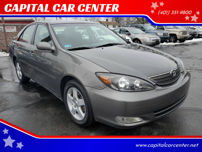 2004 Toyota Camry for sale at CAPITAL CAR CENTER in Providence RI