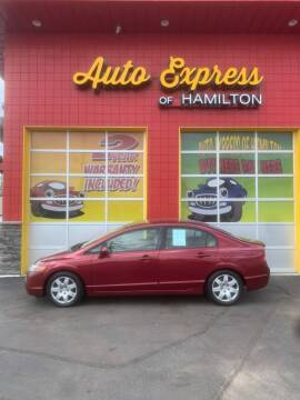 2007 Honda Civic for sale at AUTO EXPRESS OF HAMILTON LLC in Hamilton OH
