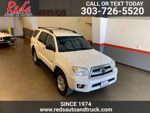 2007 Toyota 4Runner for sale at Red's Auto and Truck in Longmont CO