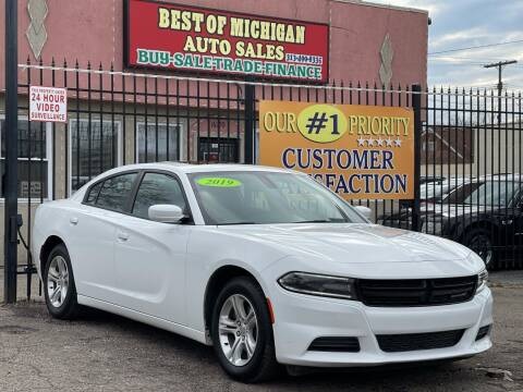 2019 Dodge Charger for sale at Best of Michigan Auto Sales in Detroit MI