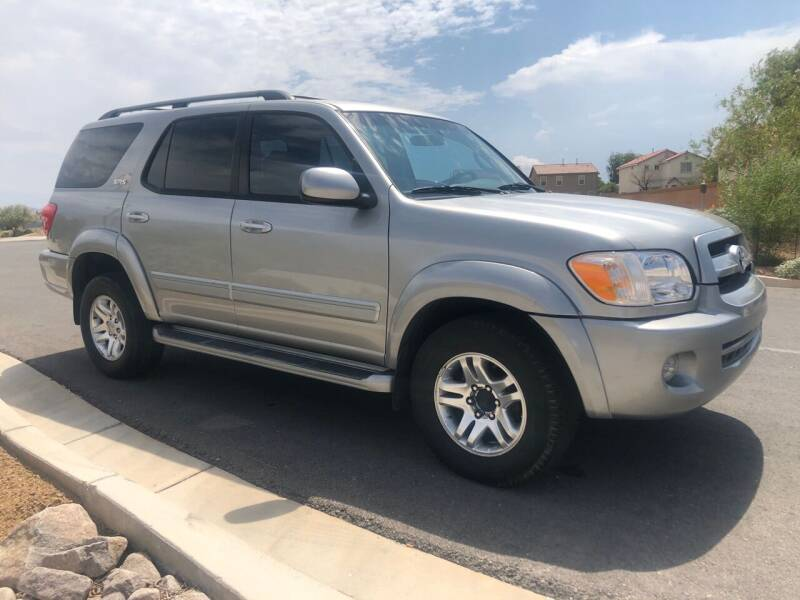 2007 Toyota Sequoia for sale at GEM Motorcars in Henderson NV