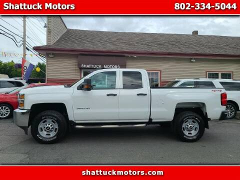 2016 Chevrolet Silverado 2500HD for sale at Shattuck Motors - NEKtrucks.com in Newport VT