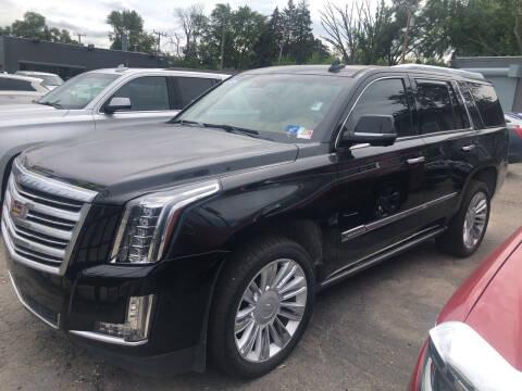 2016 Cadillac Escalade for sale at Champs Auto Sales in Detroit MI